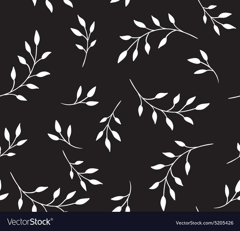 Seamless pattern floral stylish background