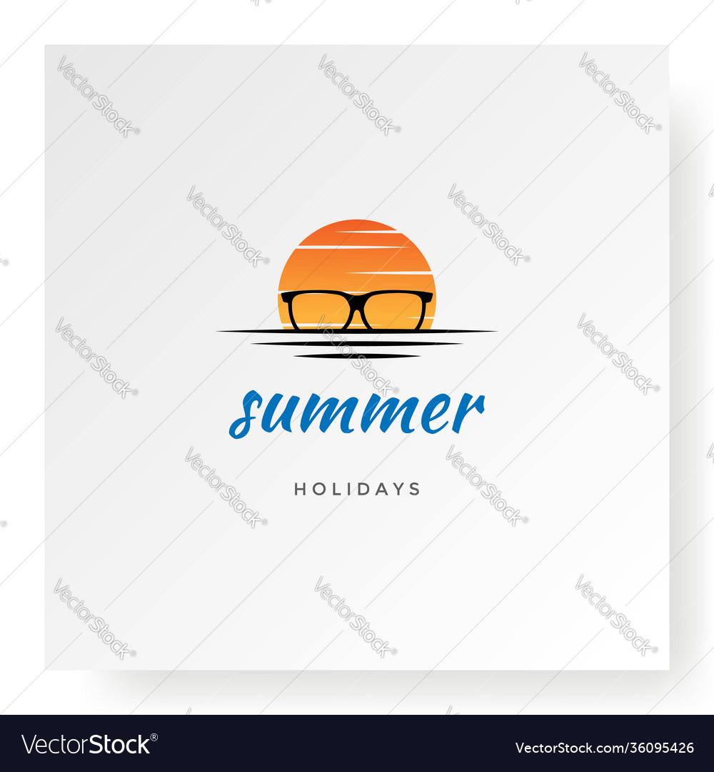 Sunset sunrise eyeglass spectacles for travel