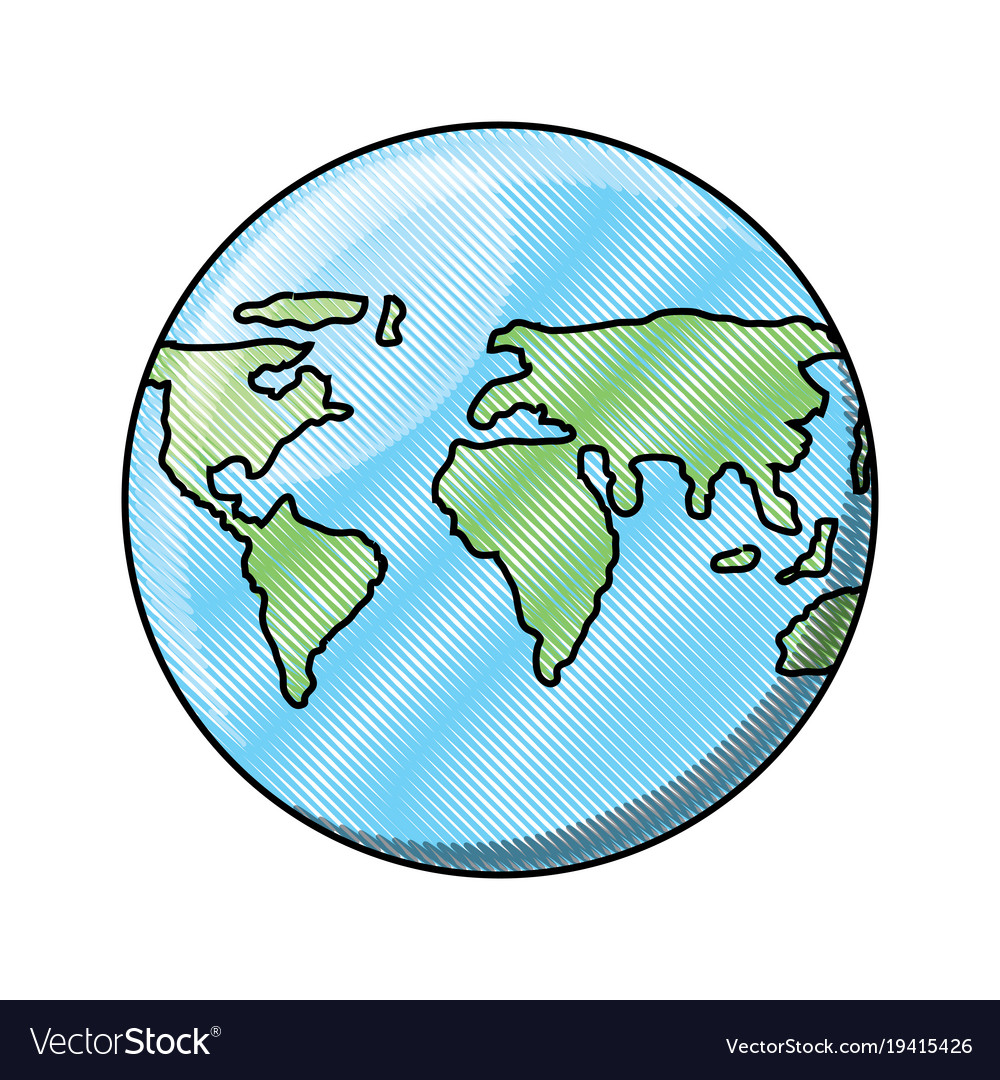 World map sphere icon royalty free vector image world map sphere icon vector image gumiabroncs Choice Image