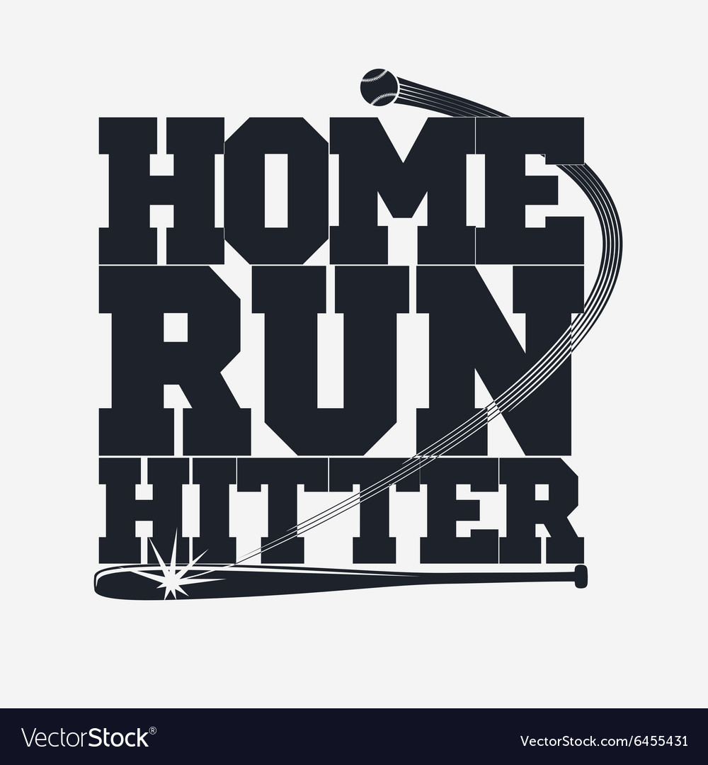 Baseball emblem for t-shirt vector image