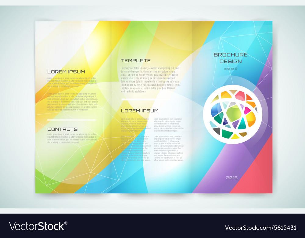 Pre Brochure Template | Globe Brochure Template Abstract Arrow Royalty Free Vector