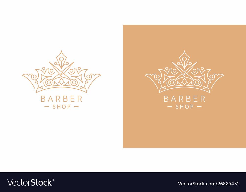 Original linear image crown