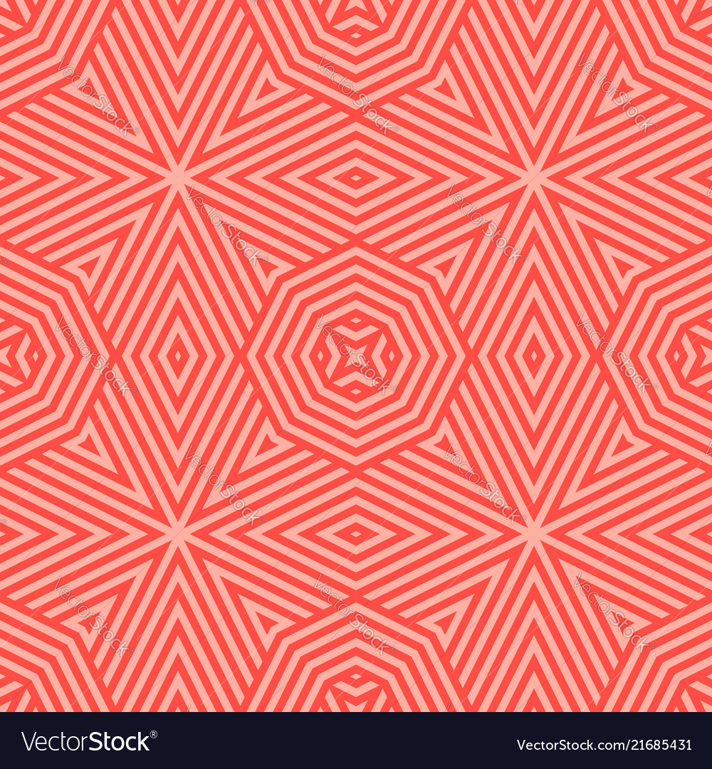 Red seamless pattern with stripes diagonal lines