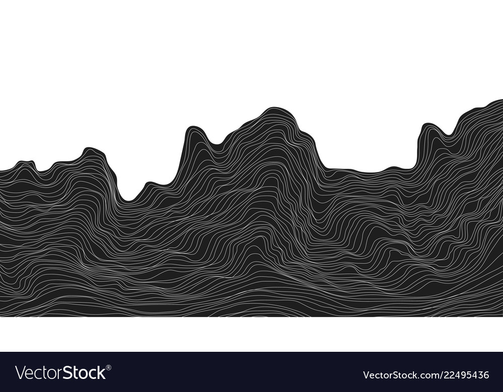 Abstract black and white background dynamic