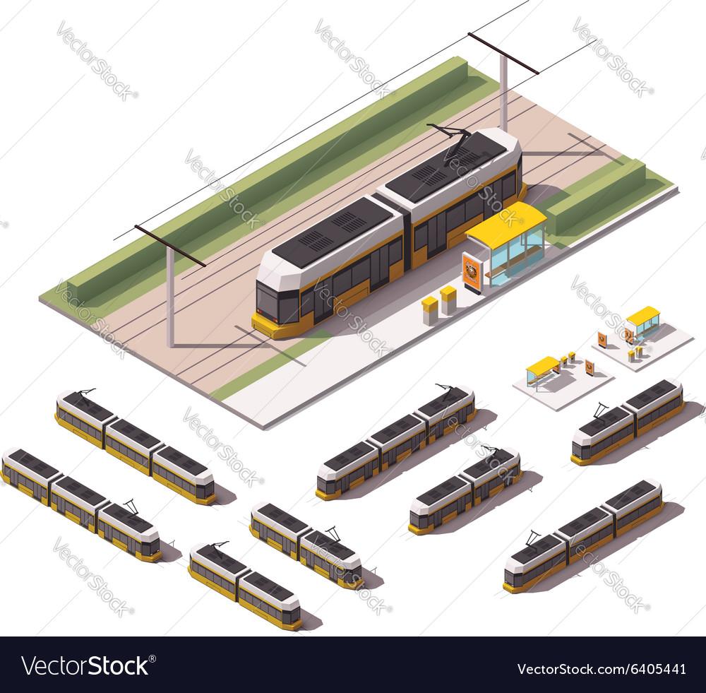 Isometric tramways