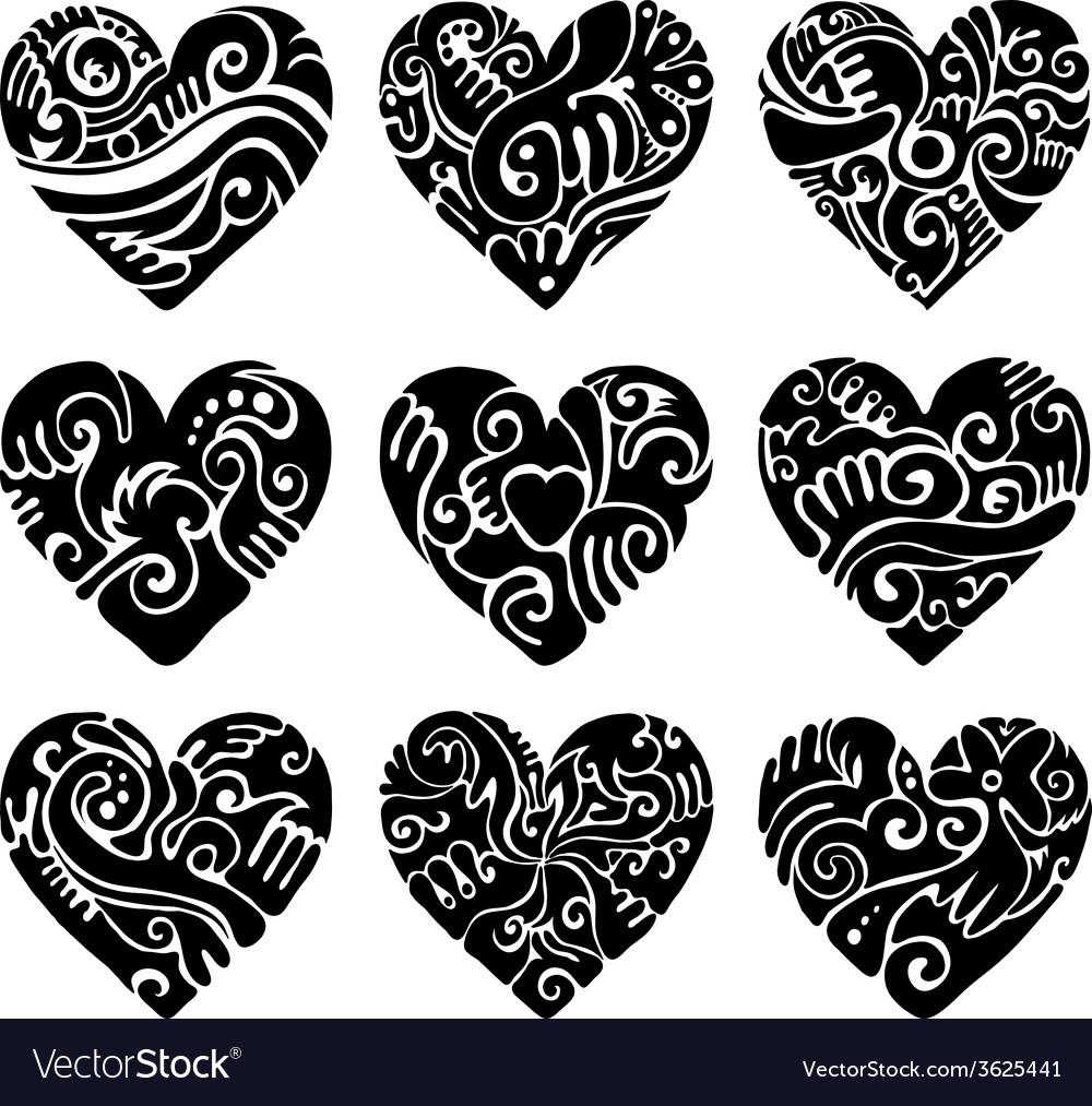 Tribal hearts