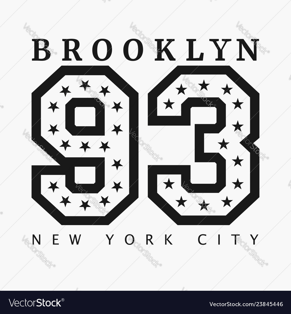 Brooklyn new york design clothes t-shirts