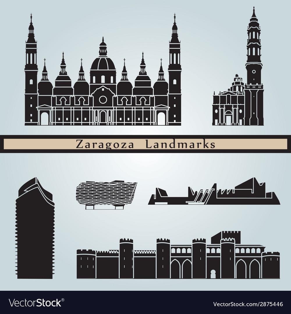 Zaragoza landmarks and monuments
