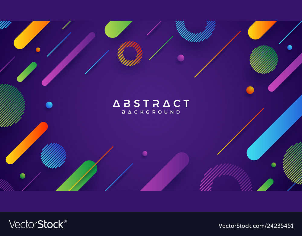 Abstract trendy gradient background