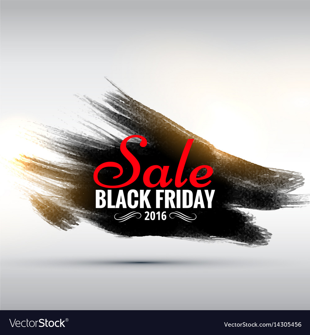 Abstract grunge style black friday sale poster