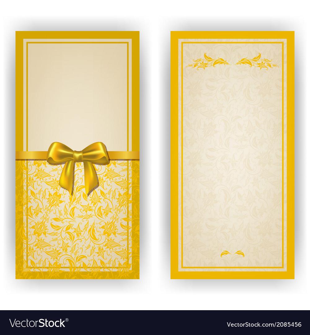Elegant template for invitation card