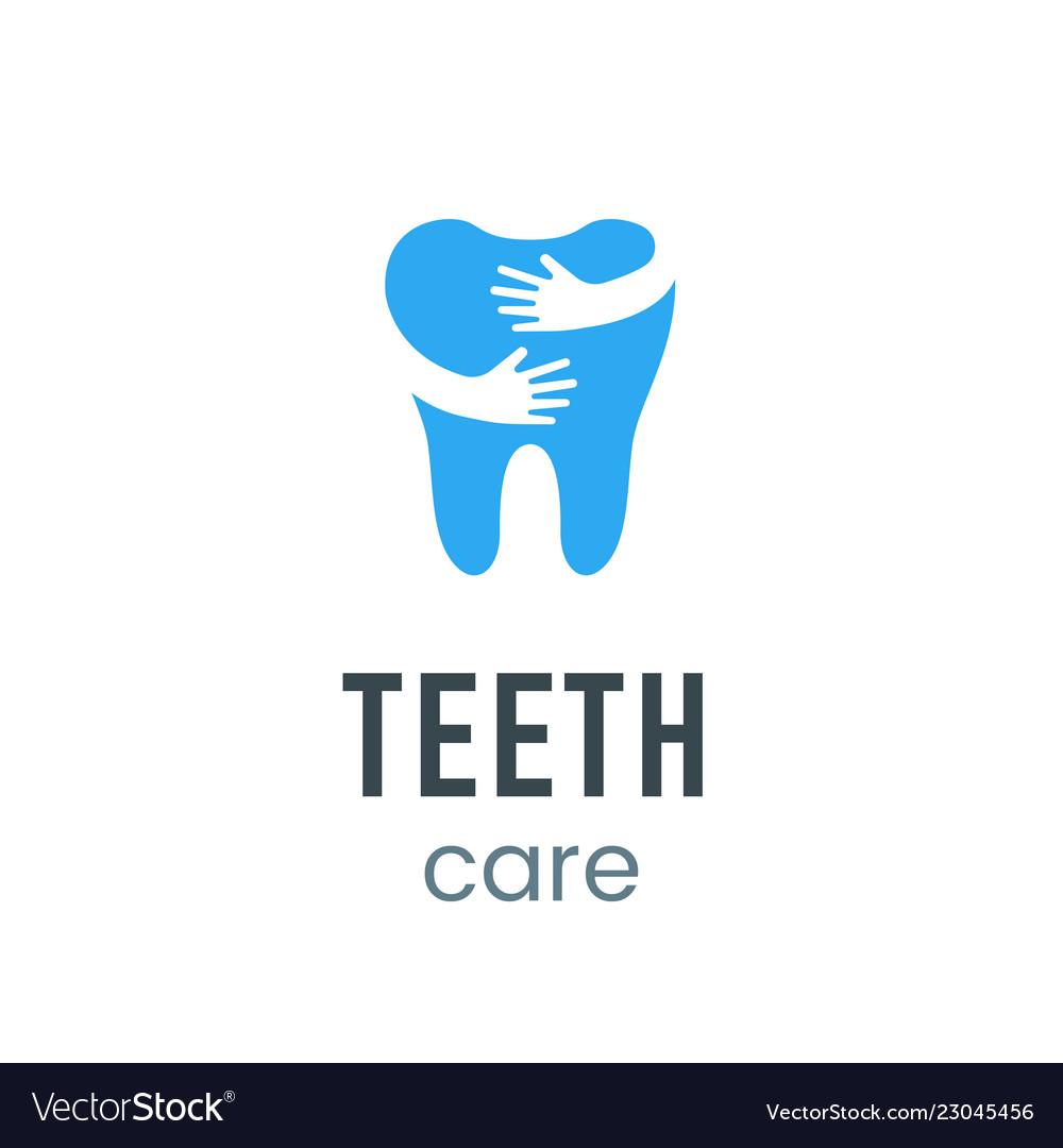 Teeth care logo sign