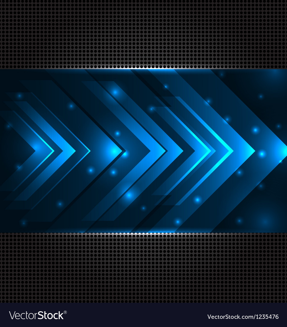 Abstract techno background with set transparent vector image