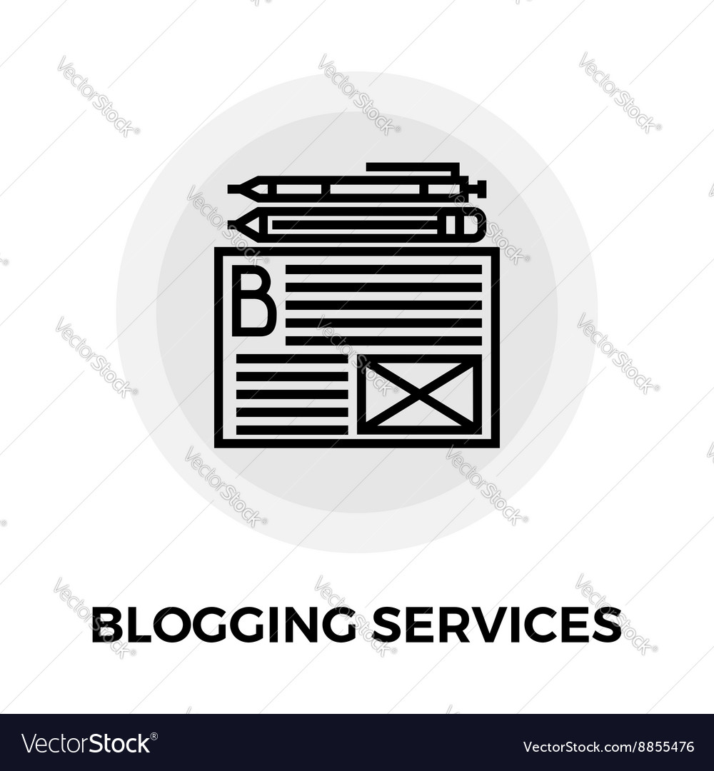 Blogging Services Icon