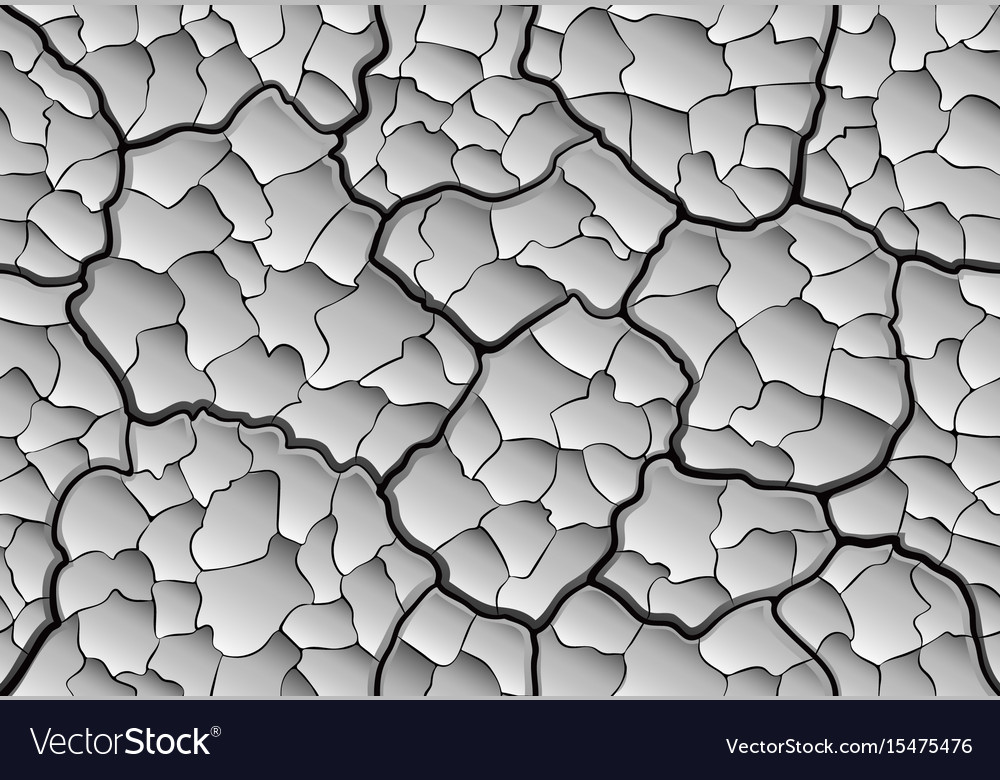 Dry land seamless pattern vector image