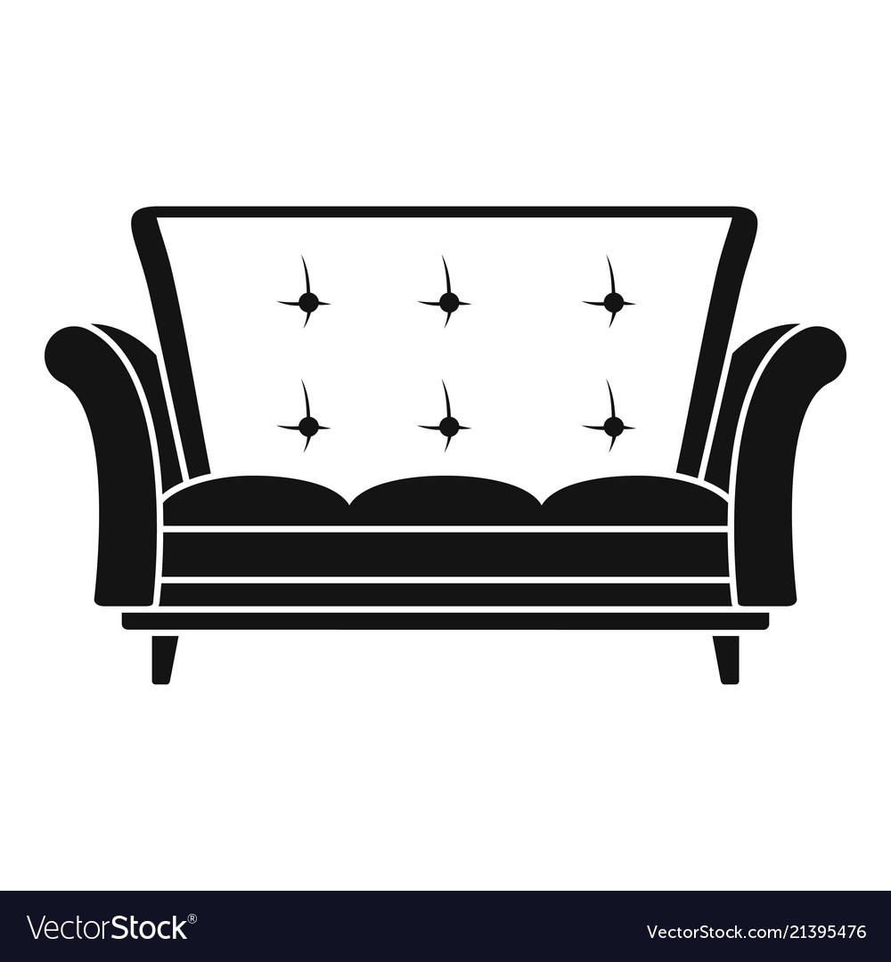 Icon Simple Style Royalty Free Vector Image