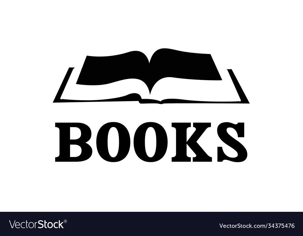 Open bound book