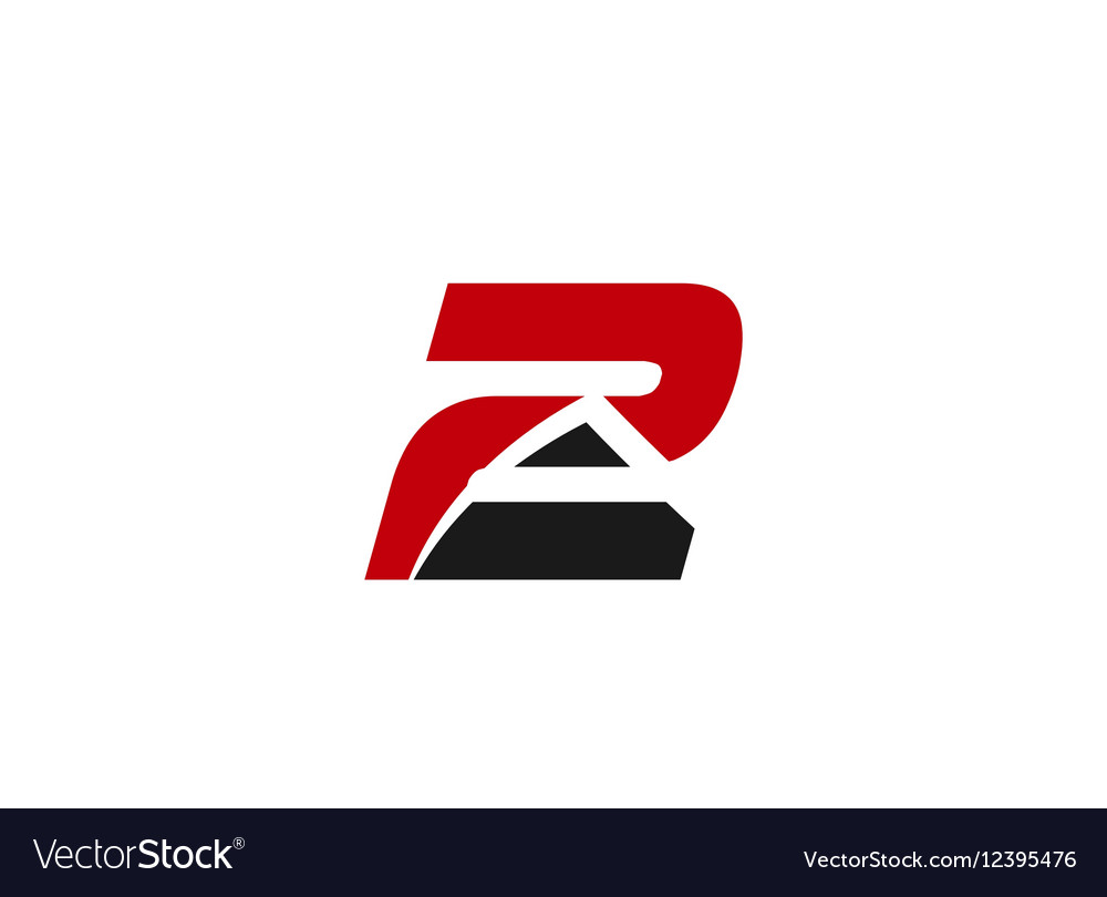Sign logo number 2 vector image