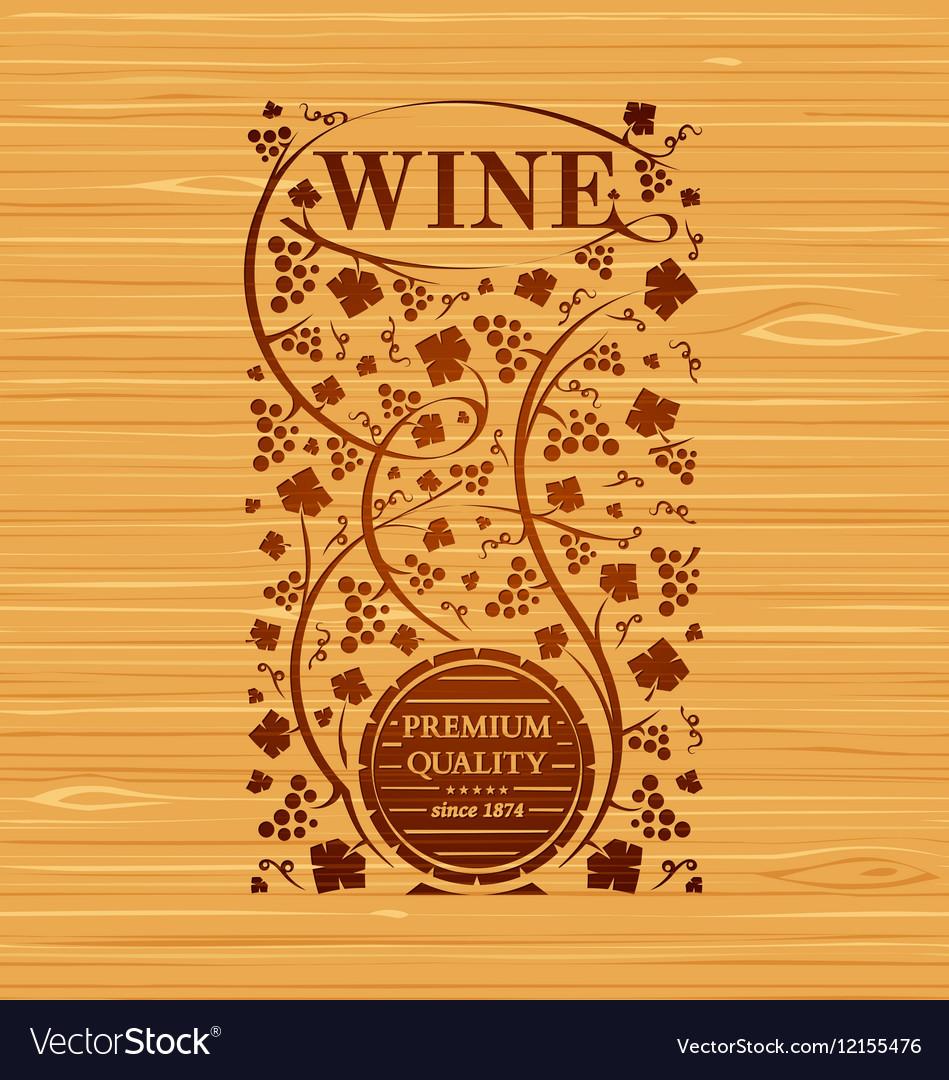 Wine emblem