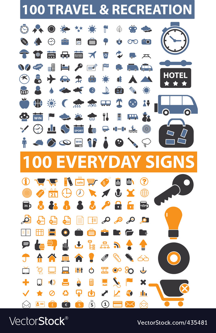 200 travel everyday signs