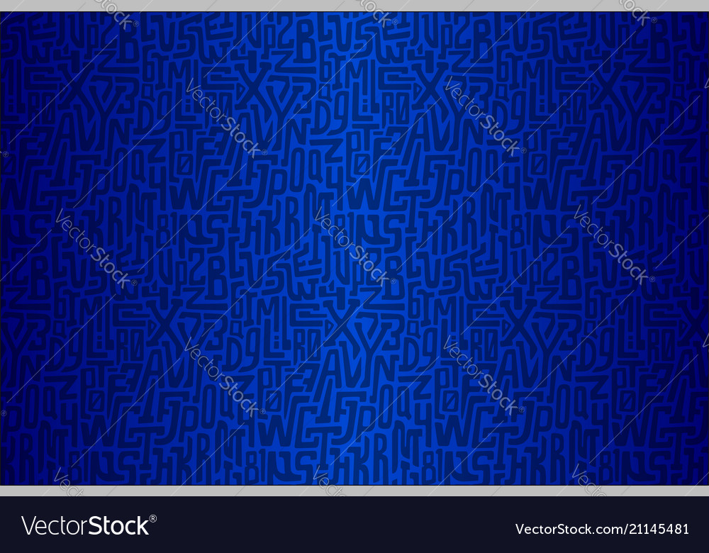 Abstract background with characters