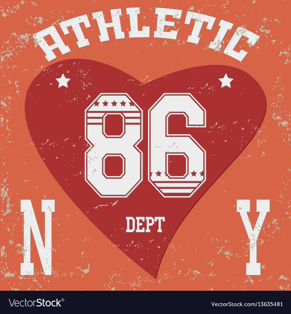 New york brooklyn vector image