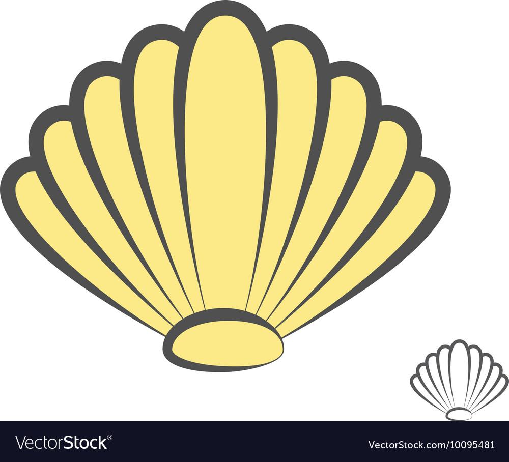 Sea shell logo or icon