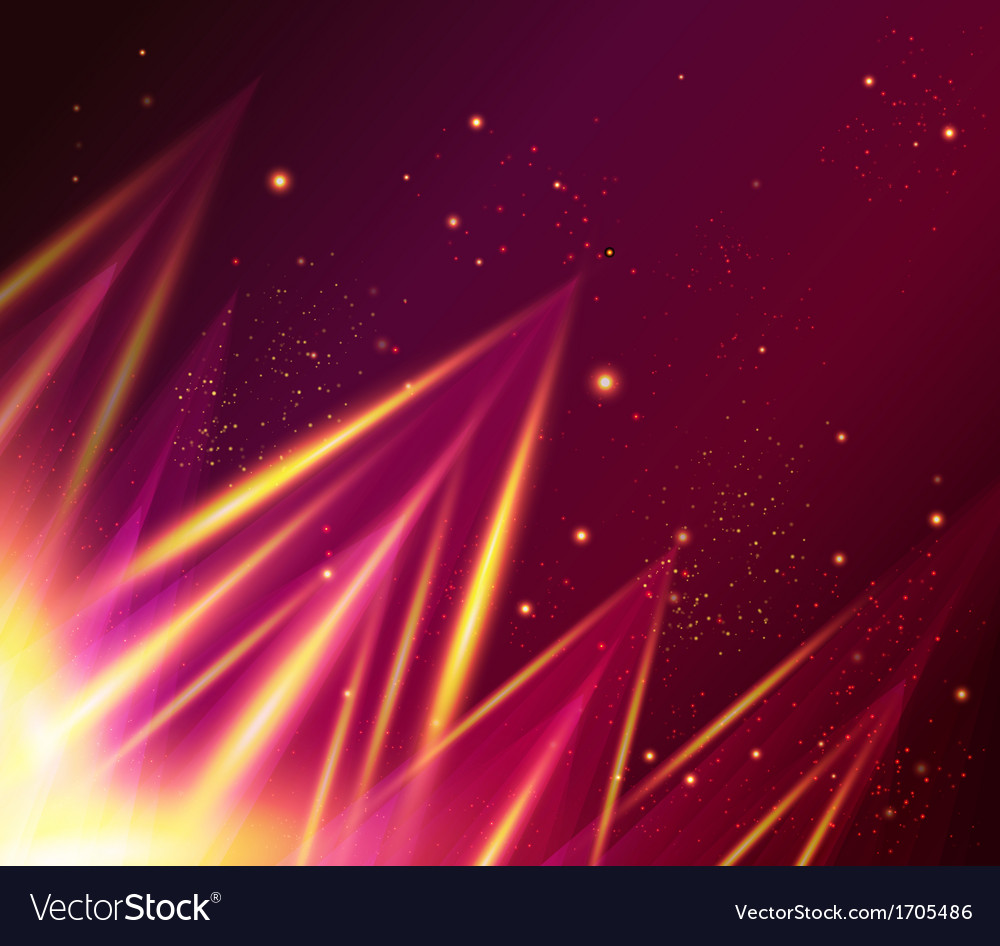 Abstract shiny background with triangles