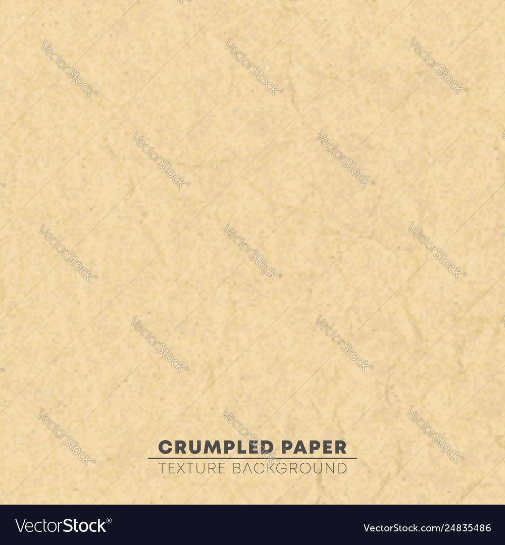 Crumpled brown cardboard texture background pixel