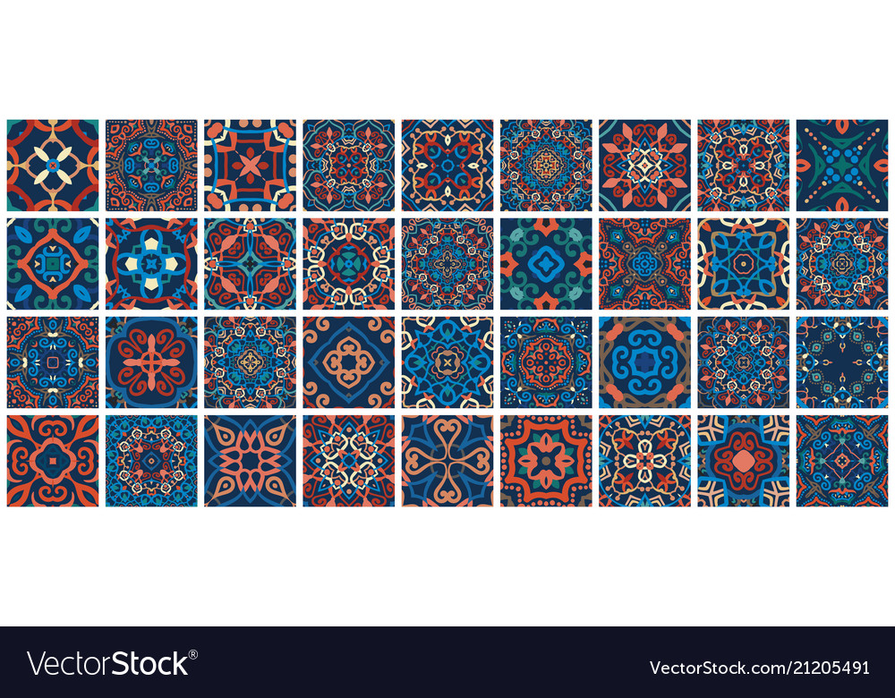 Arabic decorative tiles