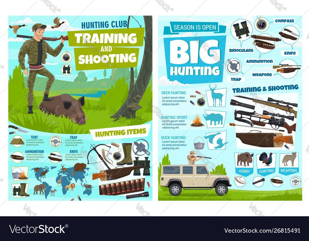 Hunting training club animals shooting equipment