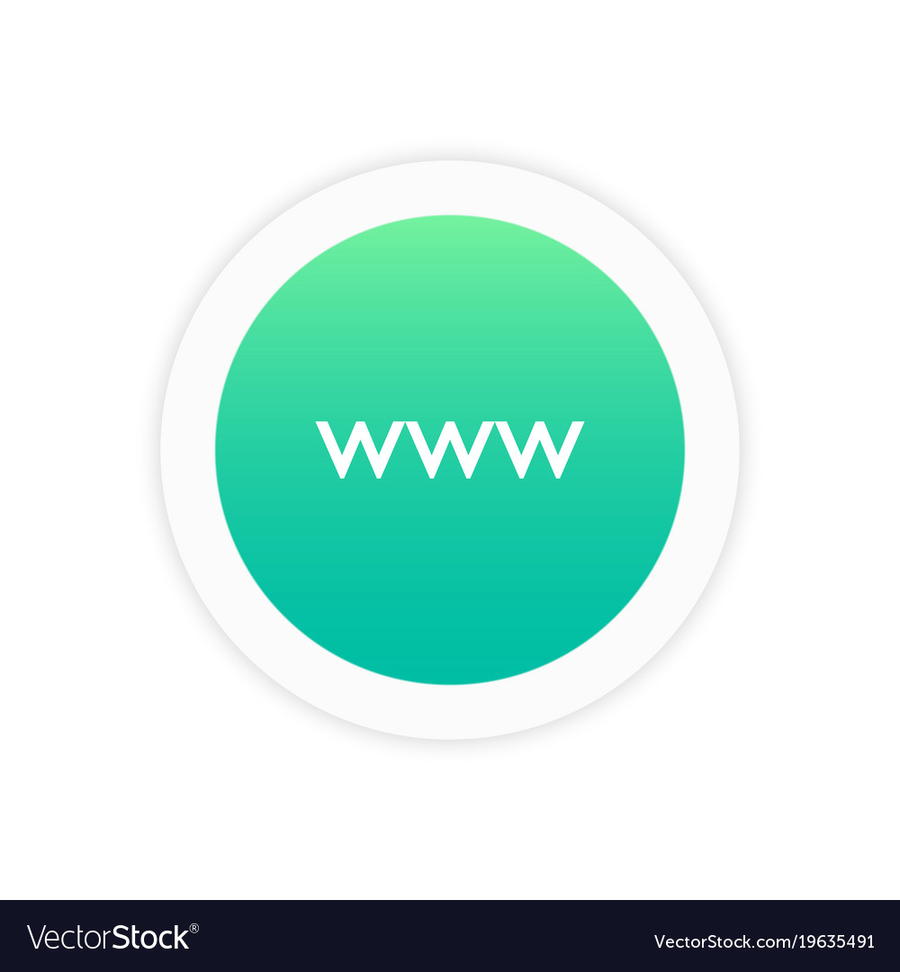Www icon sign