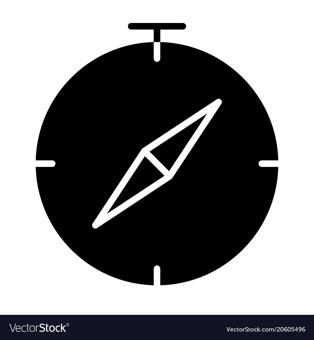 Compass icon simple minimal 96x96 pictogram vector image ccuart Images