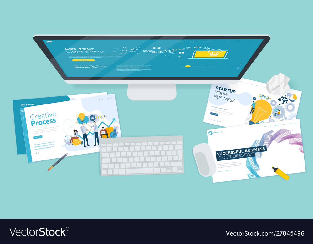 Creative workspace concept