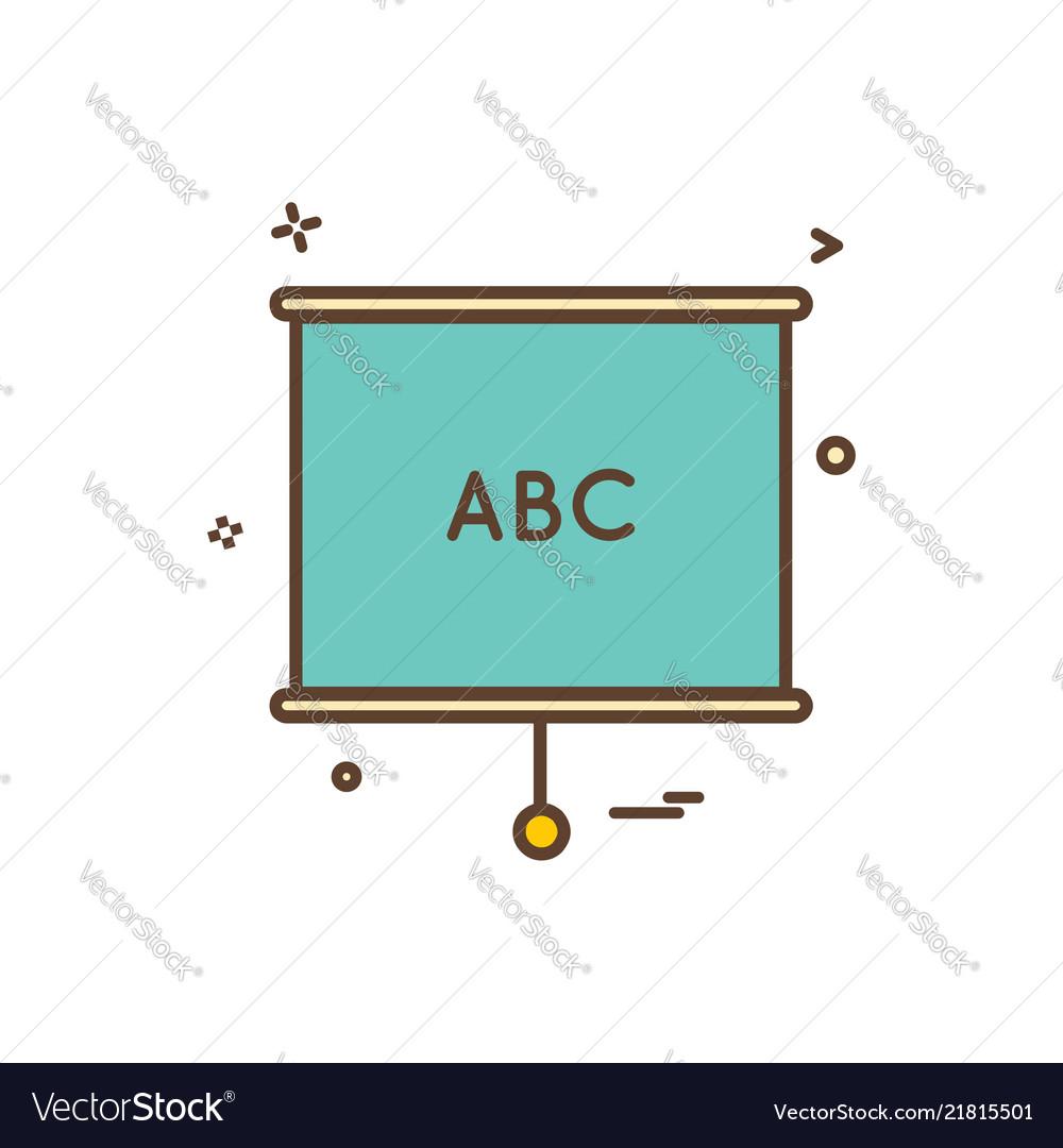 Chart diagrame office icon design
