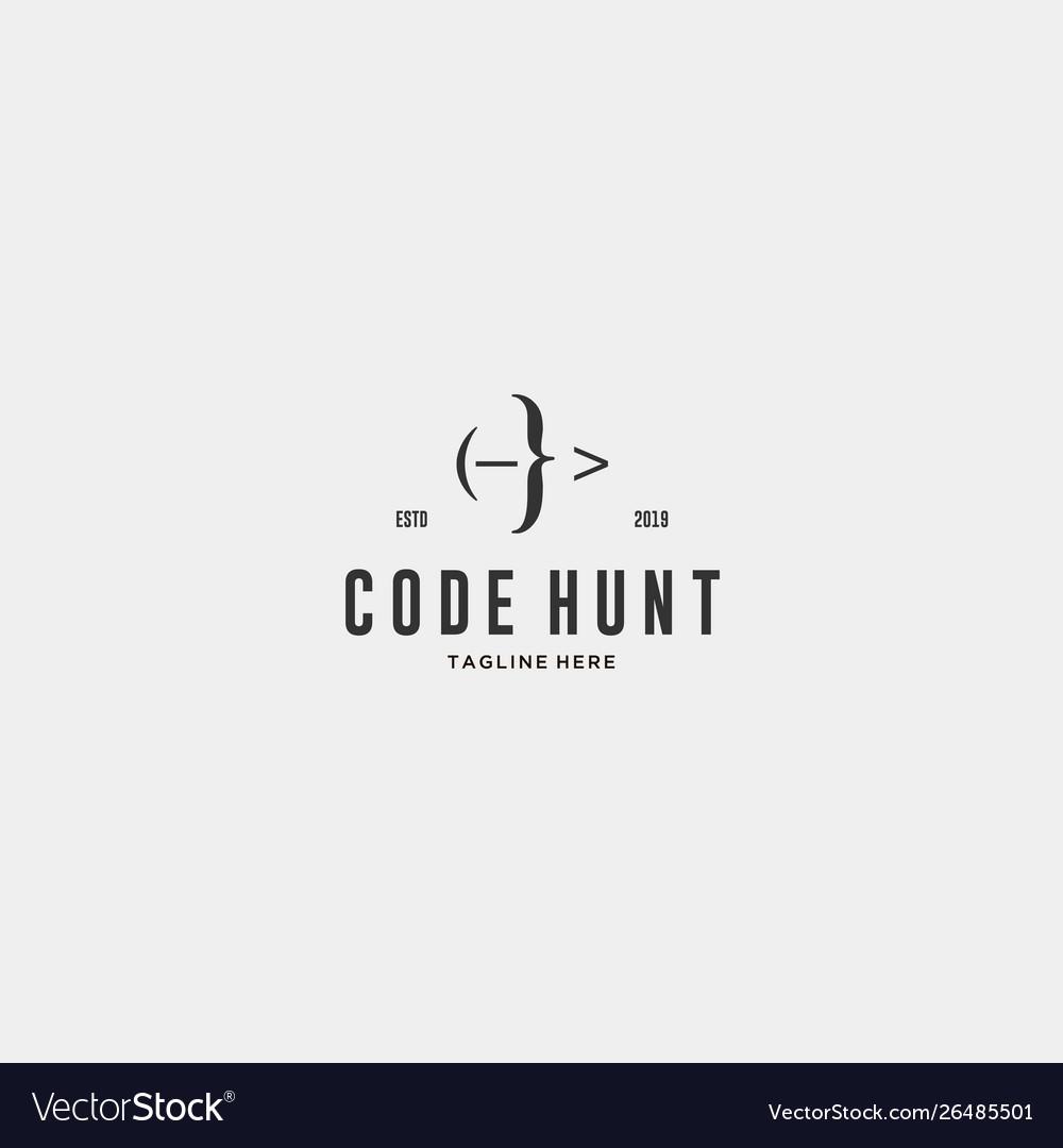 Code hunter logo