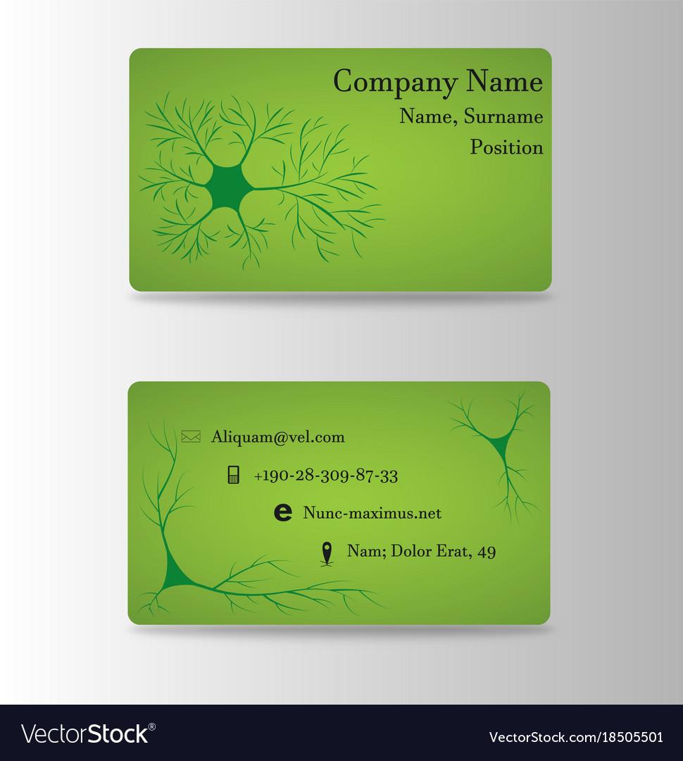 Neurosurgeon Or Brain Doctor Business Card