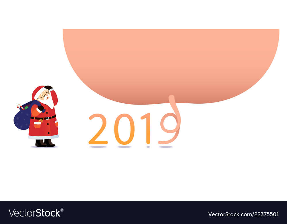 Poster happy new year 2019