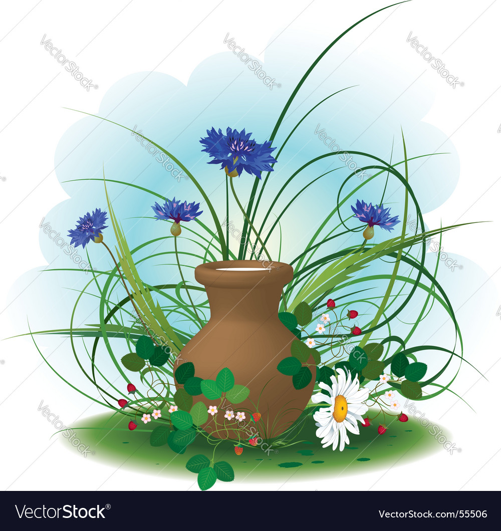 Gifts of summer vector image
