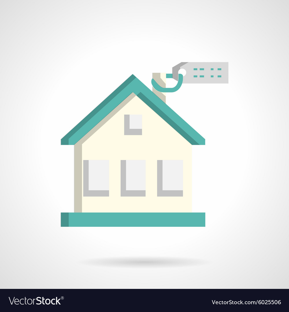 House for sale flat icon
