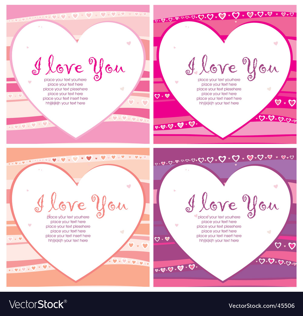 The Valentine's day. vector image