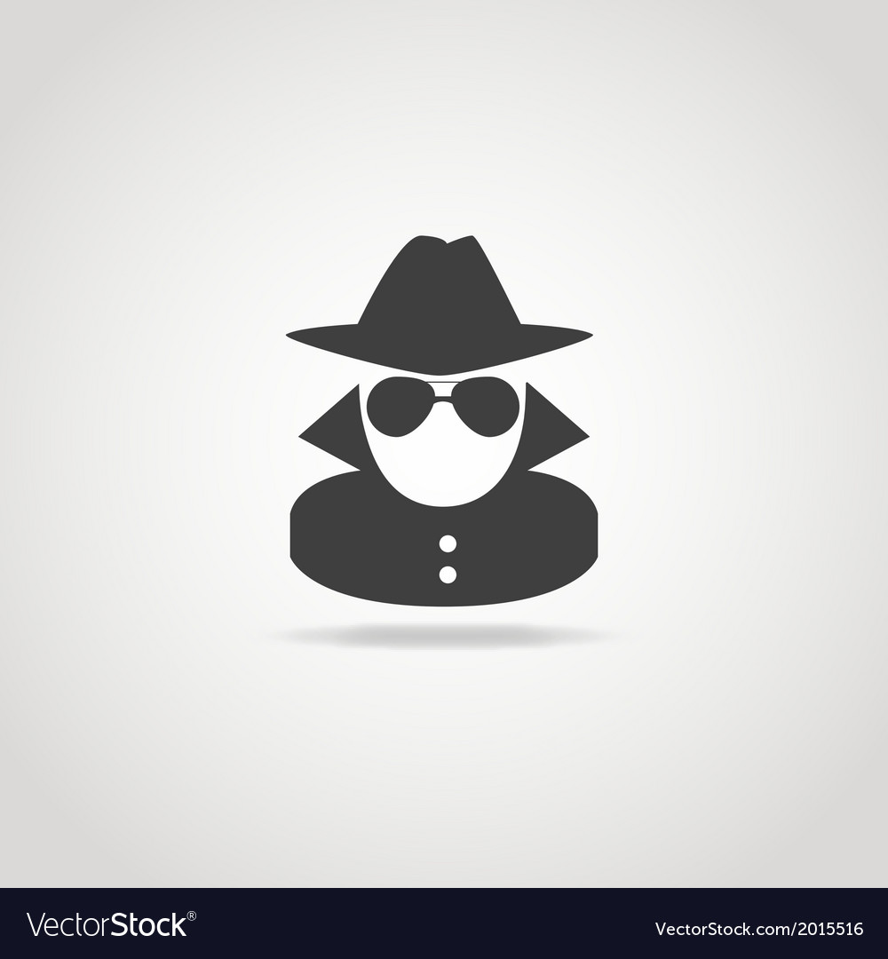 Anonymous Icon vector image