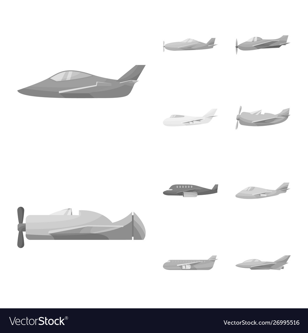 Isolated object aviation and airline icon