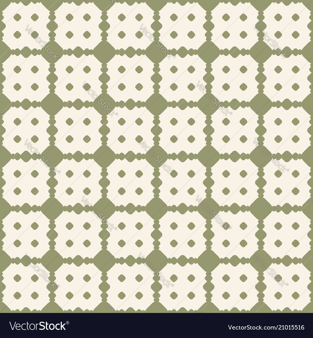 Retro vintage seamless pattern green texture with