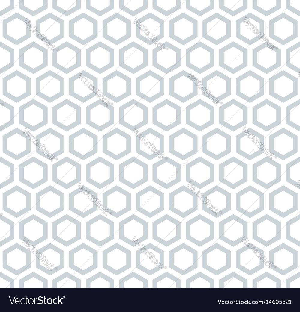 Seamless hexagons honeycomb pattern
