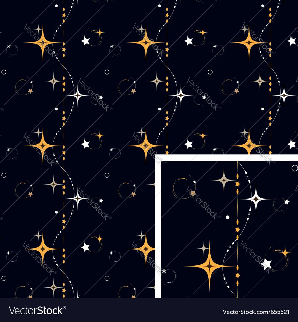 Seamless pattern star background