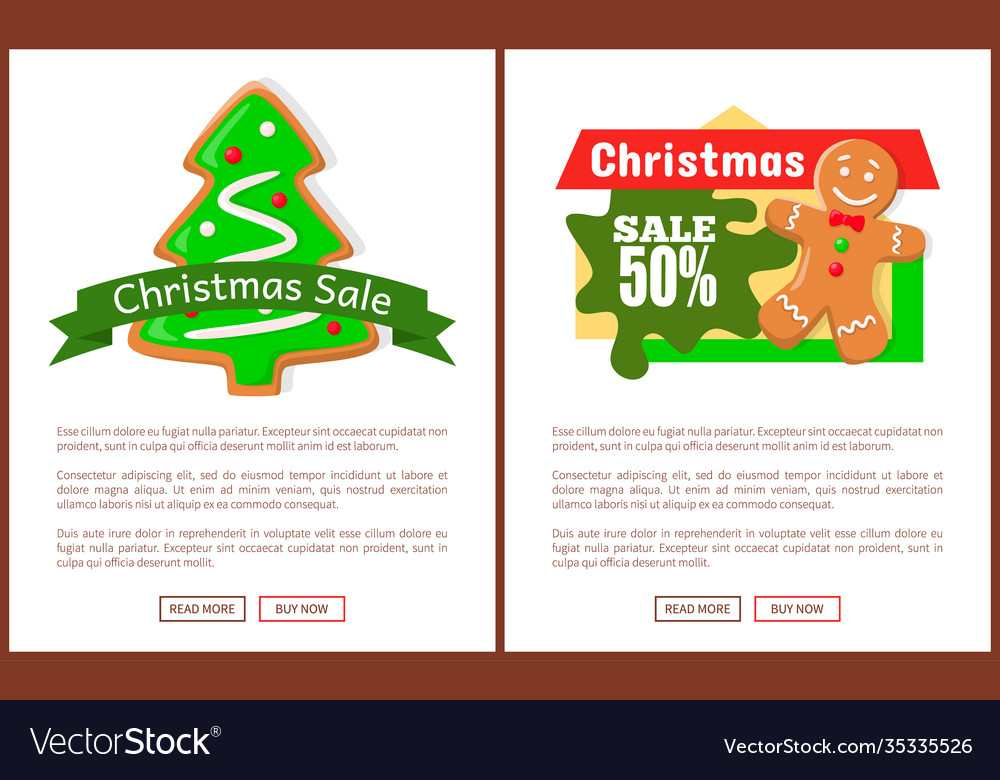 Christmas sale price tag gingerbread man and tree