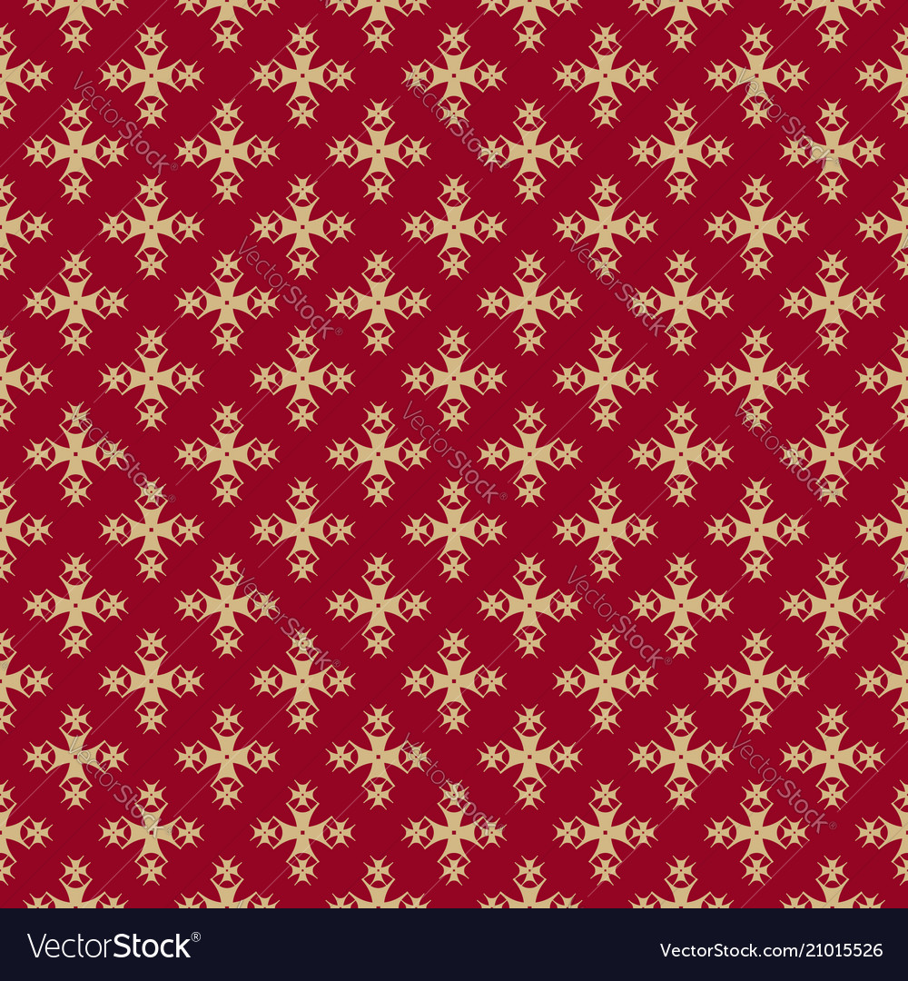 Luxury ornamental background red and gold
