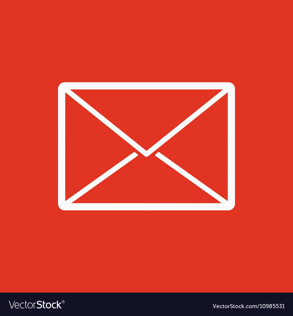 The Email Icon Mail Symbol Royalty Free Vector Image