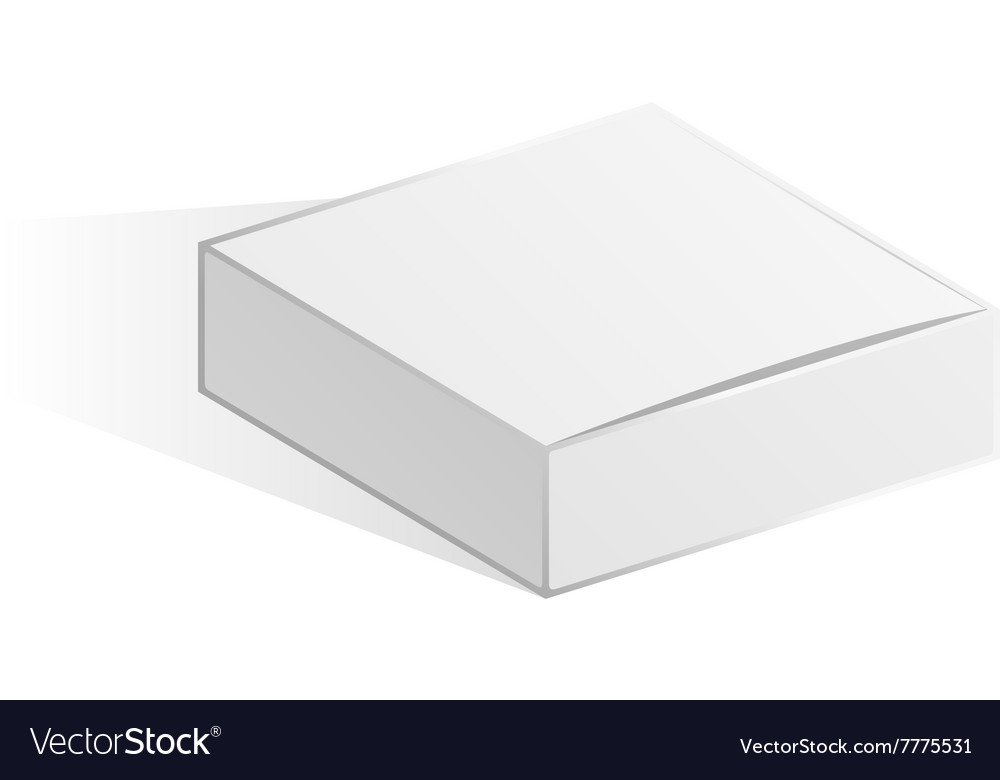 White Low box vector image